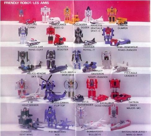 Les jouets de notre enfance. - Page 5 Gobots1
