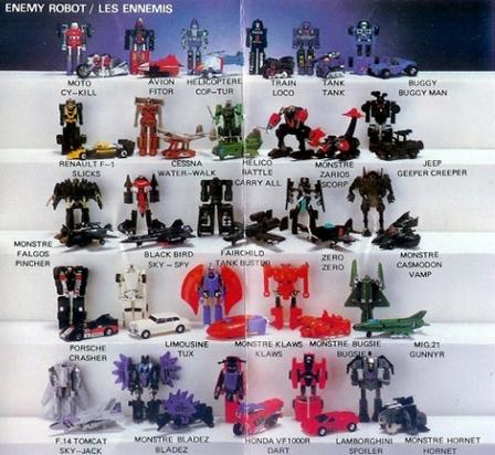 Les jouets de notre enfance. - Page 5 Gobots2